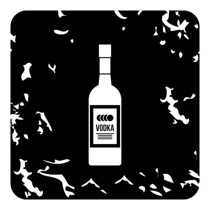 Bouteille de Vodka