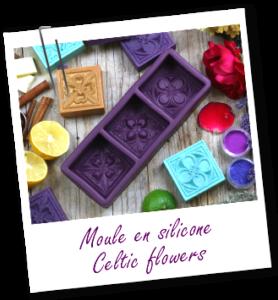Moule en silicone Seltic Flowers