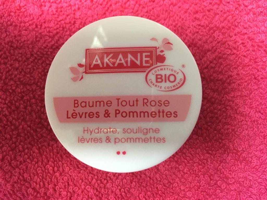 Baume Akane tout rose pommettes et lèvres
