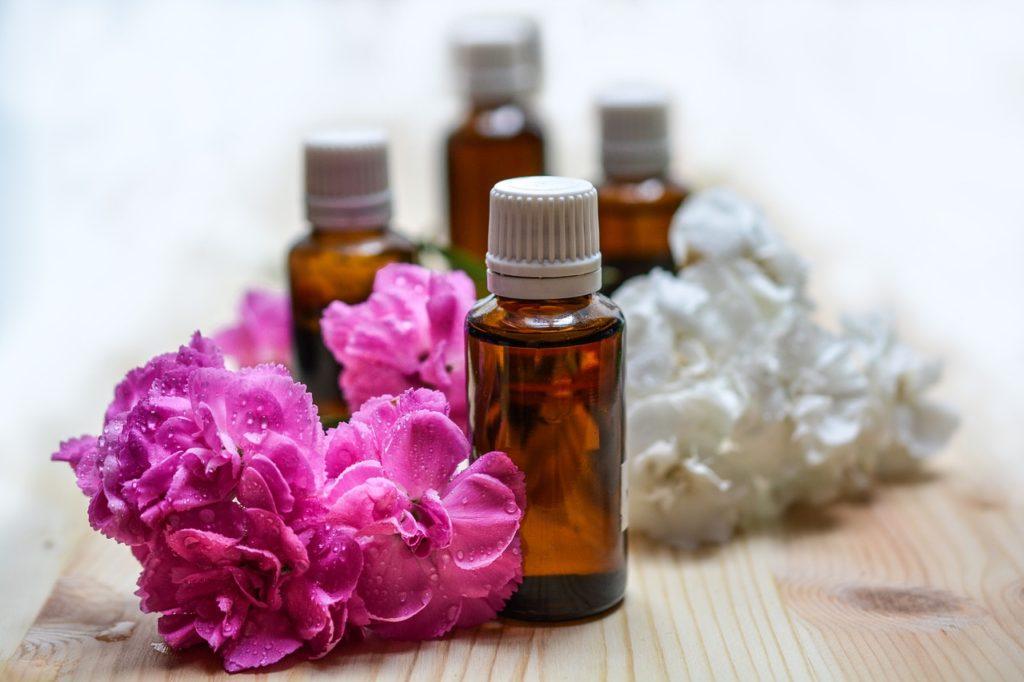 Fleurs et huiles essentielles