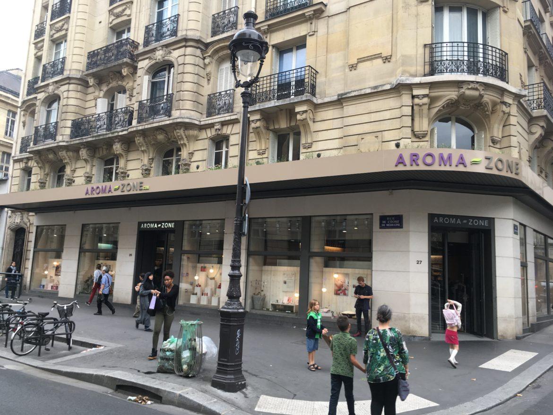 Devanture de la boutique Aroma-Zone