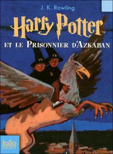 HP3 Harry Potter et le prisonnier d'Azkaban, JKR Folio junior