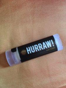 Baume à lèvres protection solaire Hurraw