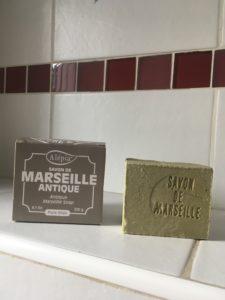 Un bloc de savon de Marseille