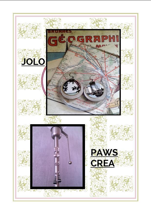 Bijoux JOLO et Paws Crea