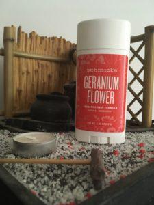 Déodorant stick géranium de Schmidt's