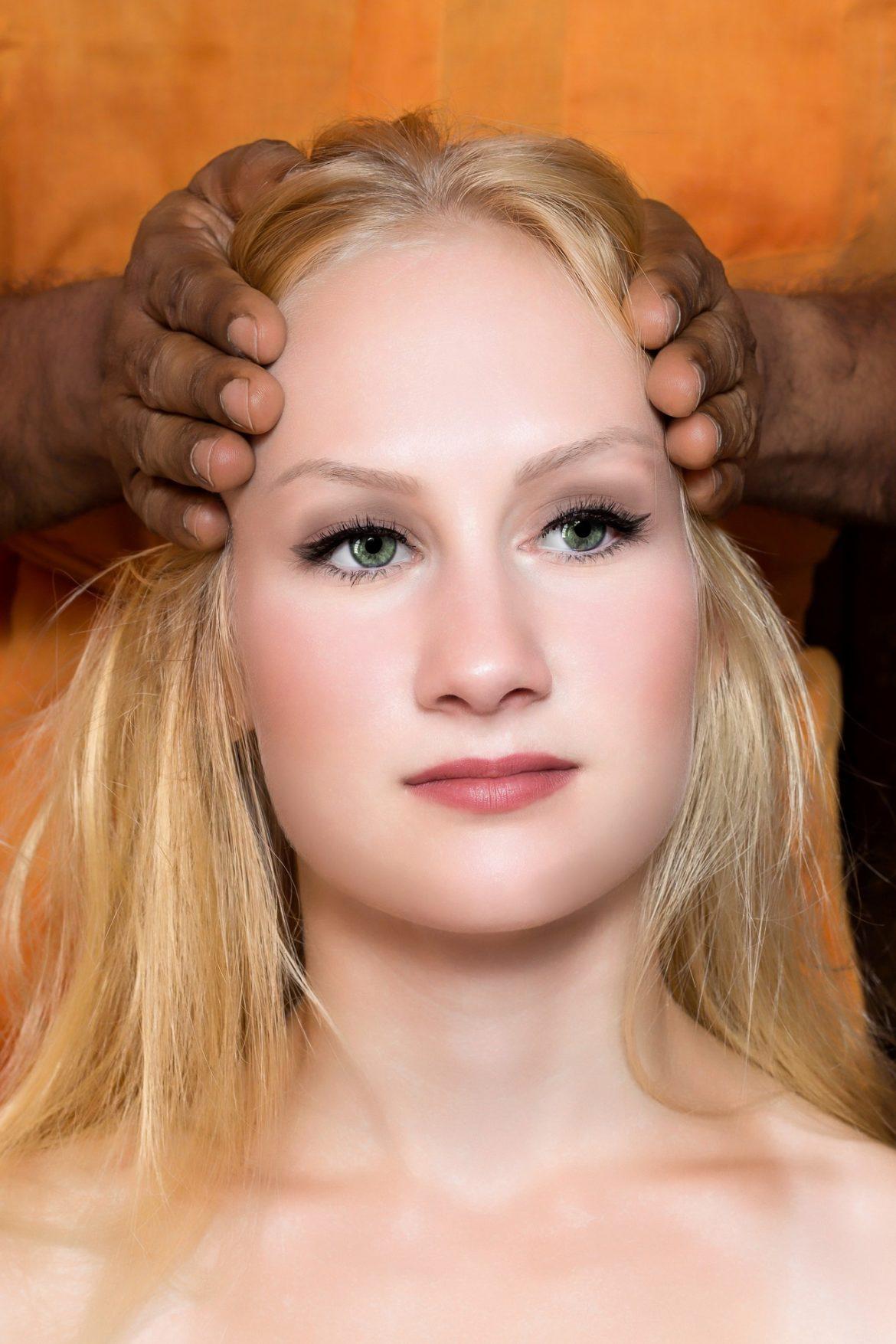 Massage de tête