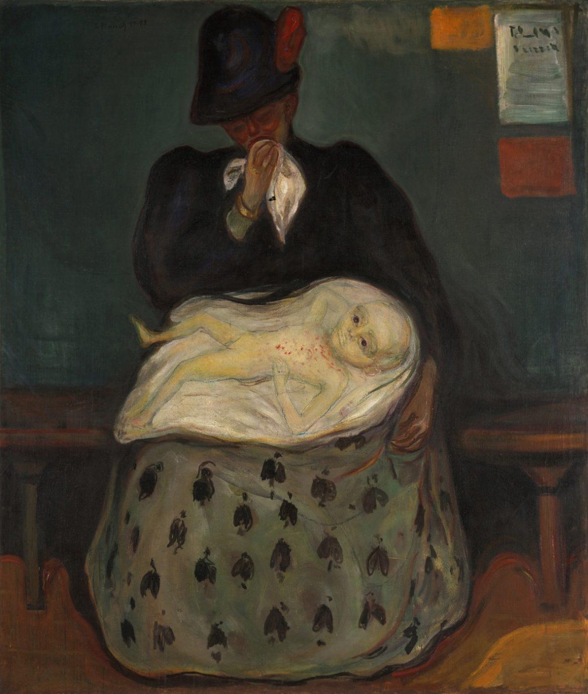 Héritage, Edvard Munch (description à la fin de l'article)