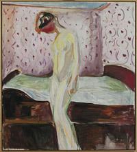 Femme en pleurs, Edvard Munch (description à la fin de l'article)