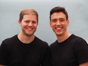 Dorian et Andy, les fondateurs de My Mira