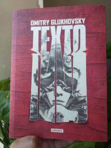 Couverture - Texto de Dmitry Glukhovsky, éditions l'Atalante